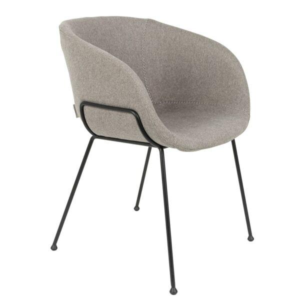 Feston szék, szürke szövet
