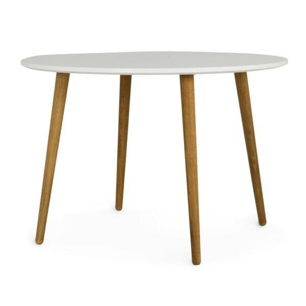 DOT étkezőasztal, fehér kerek, D110 cm