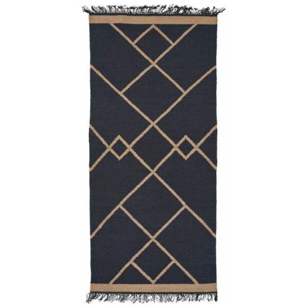 Smilla szőnyeg kék, 80x180cm