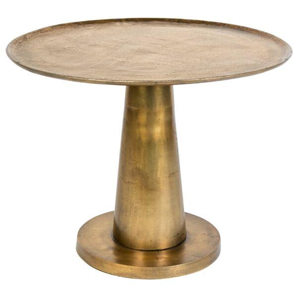 Brute lámpaasztal, vintage sárgaréz