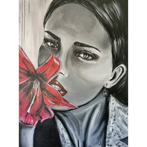 Adriana festmény, 90x120cm