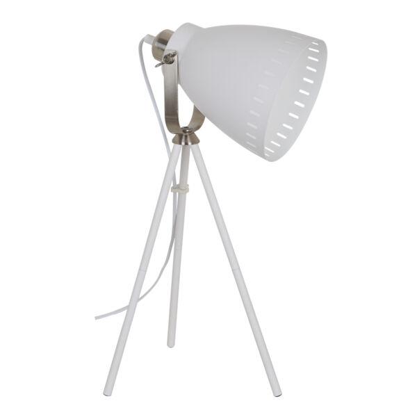 Franklin asztali lámpa, fehér