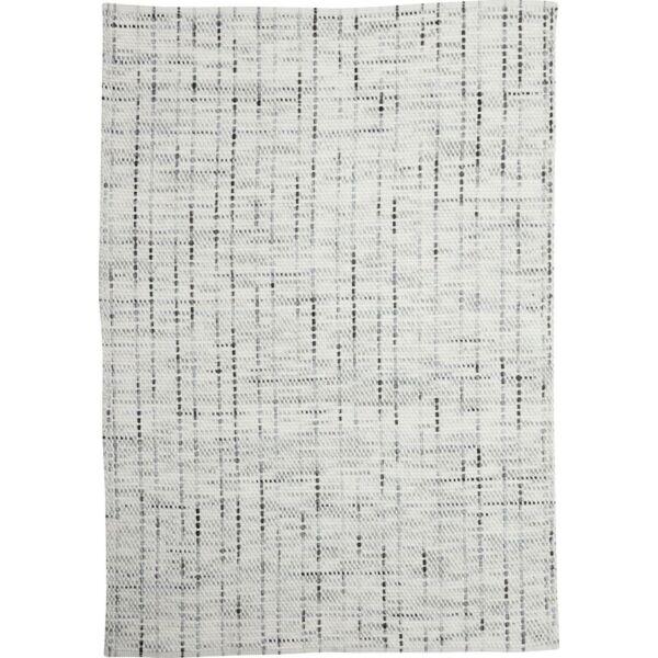 Torne szőnyeg, törtfehér gyapjú, 160x230 cm