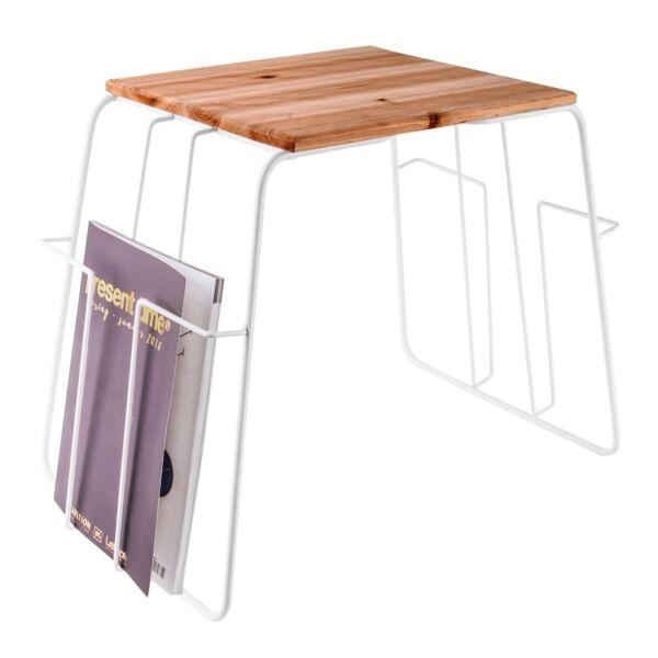 Wired lerakóasztal, sötétített fa