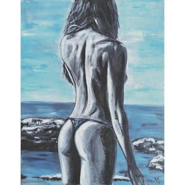 Maia festmény, 70x90cm