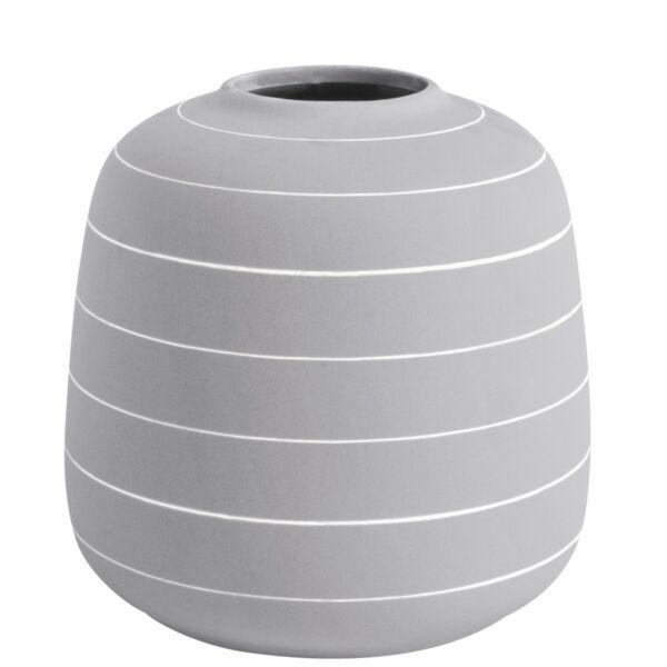 Terra váza, világosszürke, H21cm