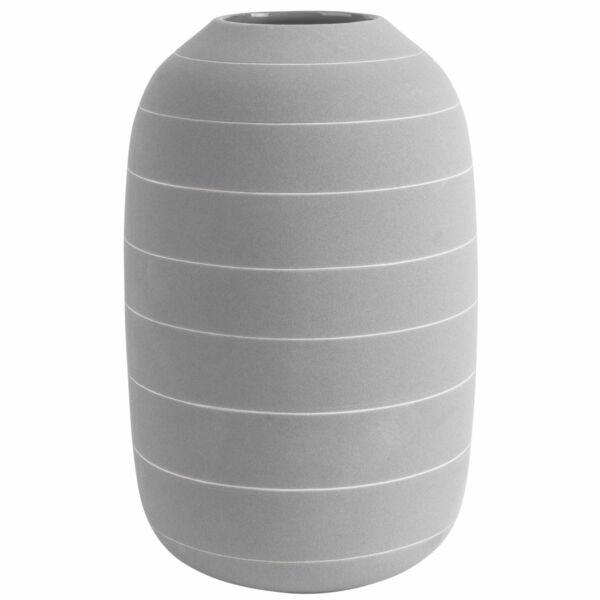 Terra váza, világosszürke, H30cm