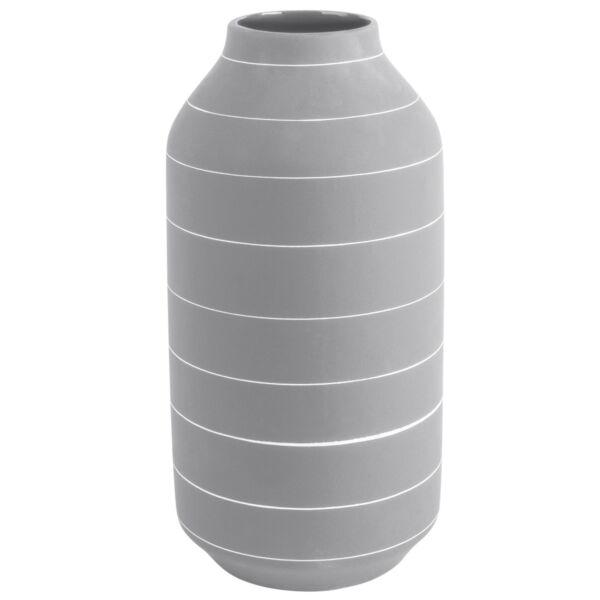Terra váza, világosszürke, H35cm