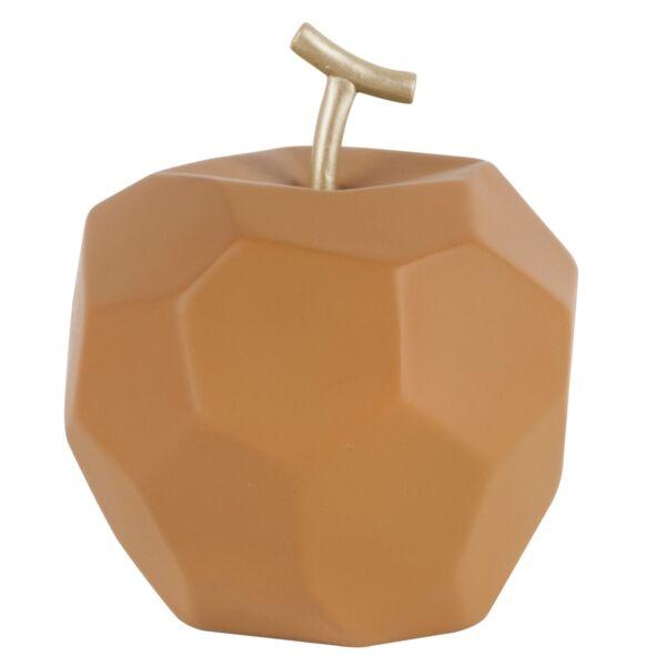Origami Apple szobor, barna