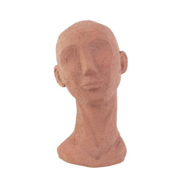 Face Art szobor, narancssárga