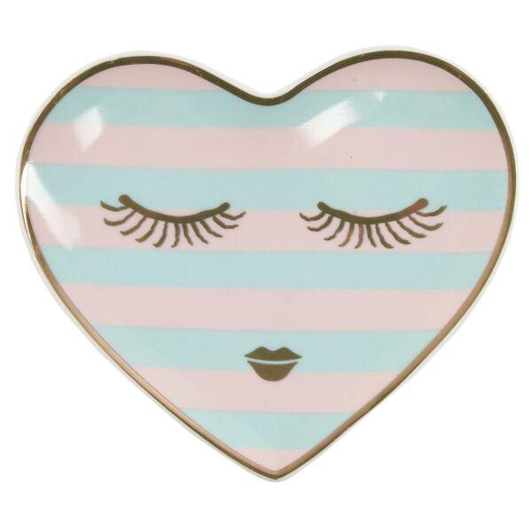 Candy Heart kínáló tál, multicolor