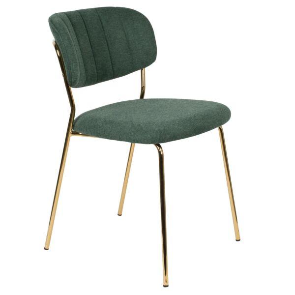 Jolien design szék, sötétzöld
