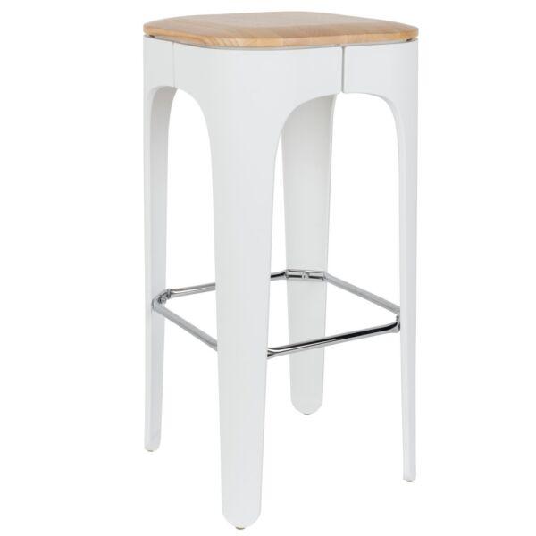 Up-high design bárszék, fehér