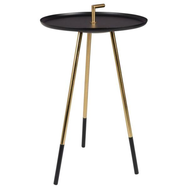 Rumbi lerakóasztal, fekete