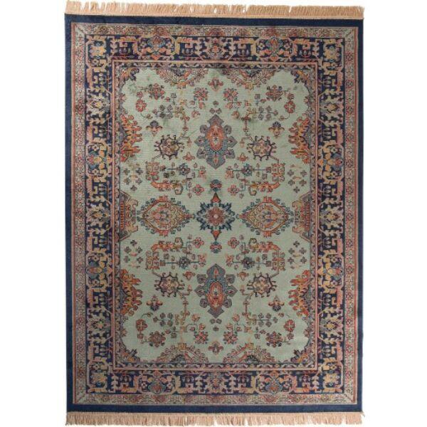 Raz szőnyeg, zöld, 160x230 cm