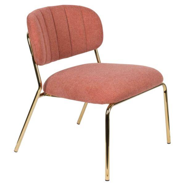 Jolien lounge szék, rózsaszín