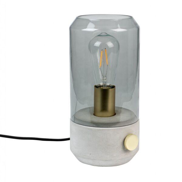 Kato asztali lámpa, füstüveg