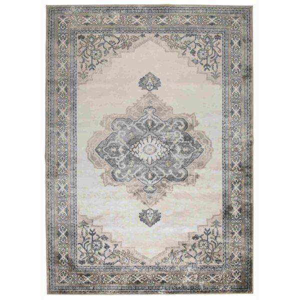 Mahal szőnyeg, szürke/barna, 170x240 cm