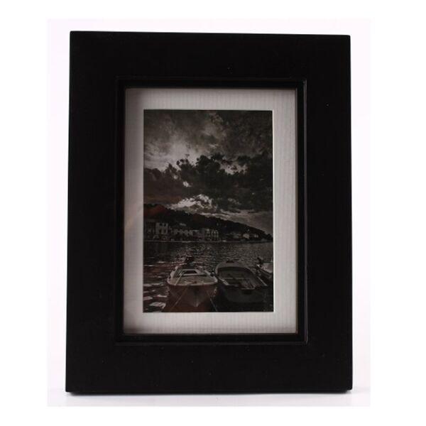 Fényképkeret S, Matt fekete 13x18 cm