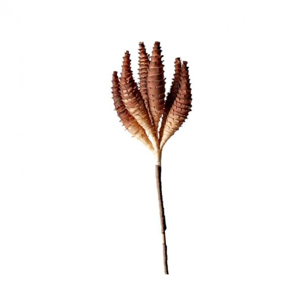 Művirág Sava, fém/polifoam