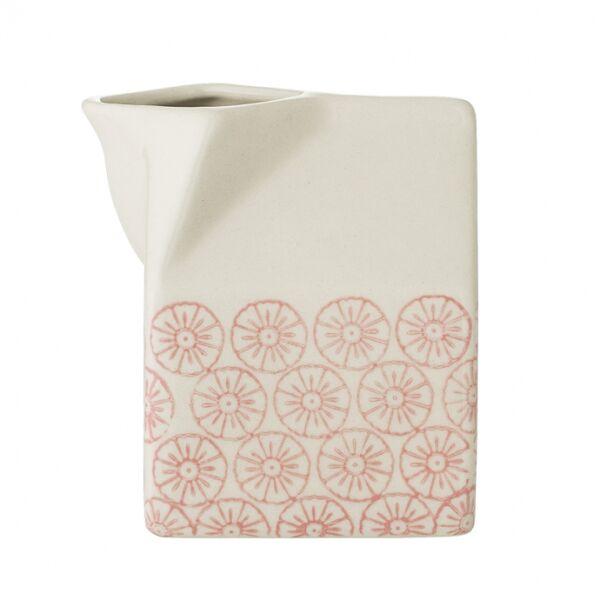 Cécile tejeskancsó, Rózsaszín/fekete kerámia