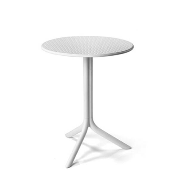 STEP kerti asztal, fehér