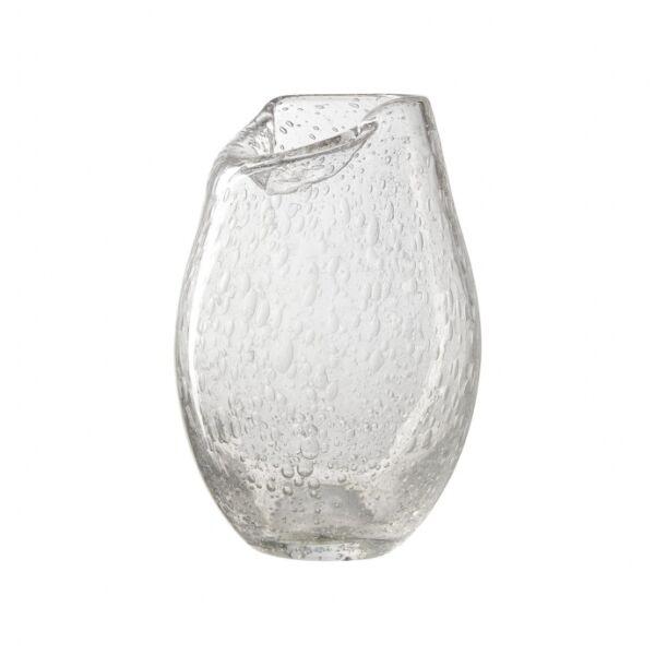 Marvic váza, átlátszó üveg