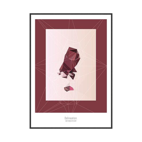"""""""Don't break my heart.."""" kép, 30x40 cm"""