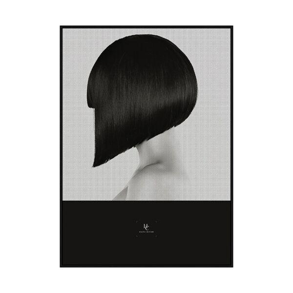 Sharp kép, fekete, 50x70cm