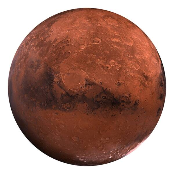 NASA Mars II. kép,  D115 cm