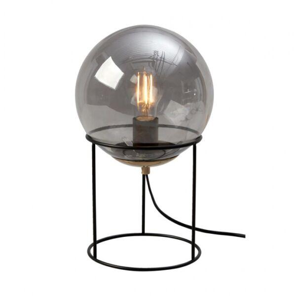 Moon asztali lámpa, füstüveg üveg