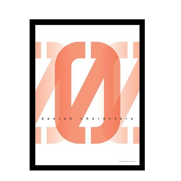 Letter Q kép,  40x50 cm