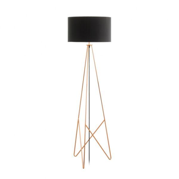 Camporale állólámpa, Sárgaréz/fekete fém