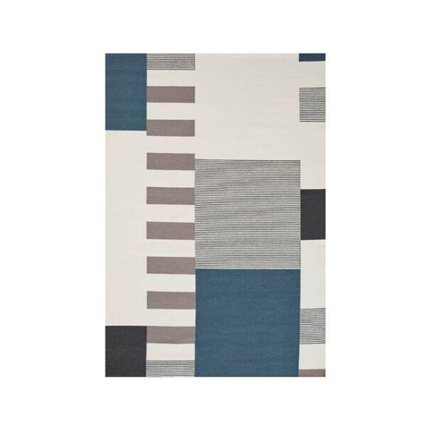 Graphic szőnyeg kék, 140x200cm