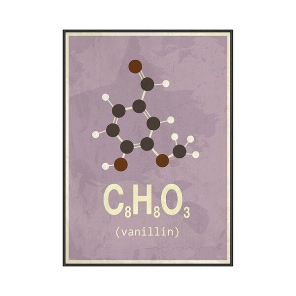 Molekula Vanília kép, 50x70 cm