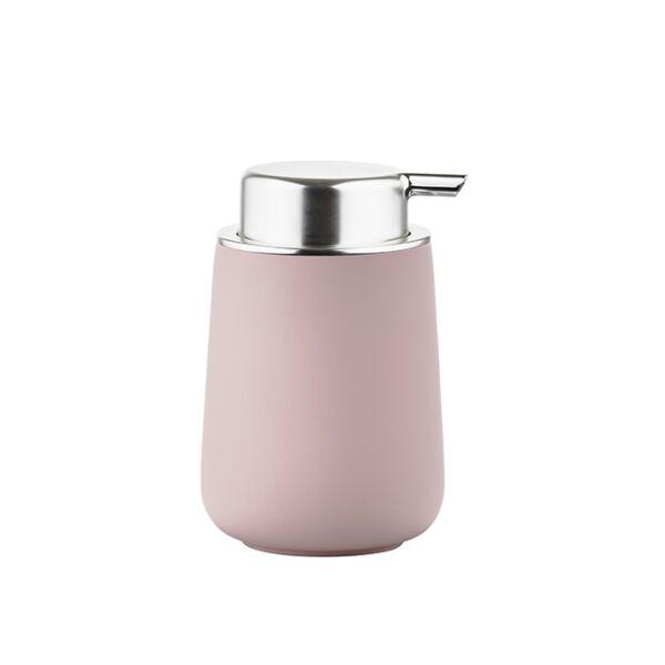 Nova szappanadagoló, rózsaszín porcelán