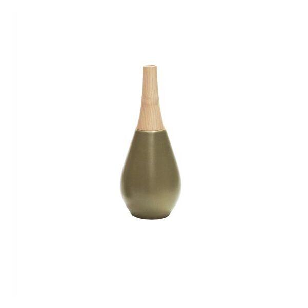 Woody váza, kicsi olivazöld fa