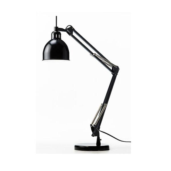 Job asztali lámpa, matt fekete fém