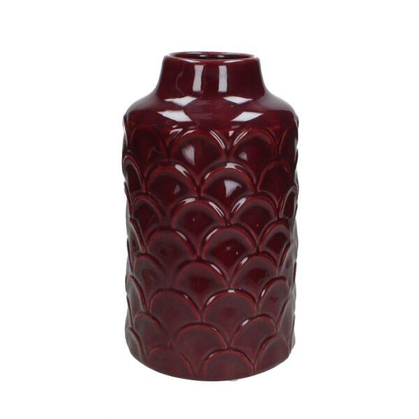Kerámia váza, lila kerámia