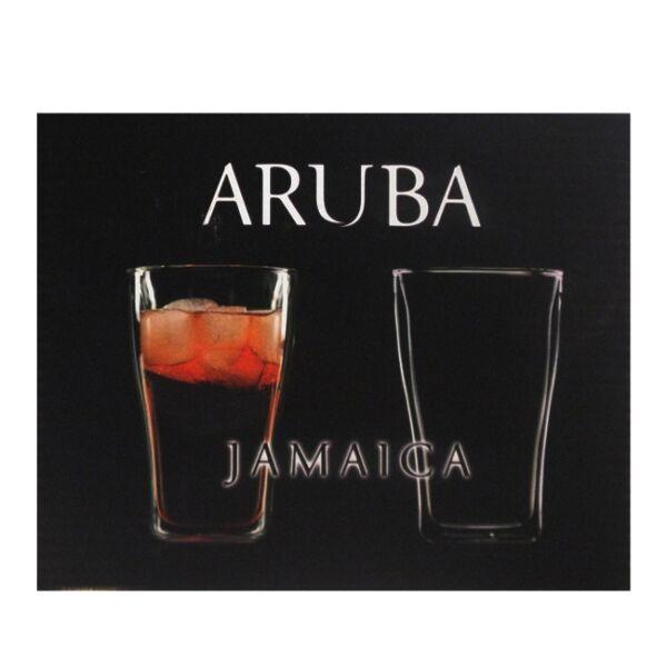 Aruba limonádés pohár szett, üveg