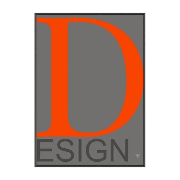 Design kép, Fekete 50x70 cm
