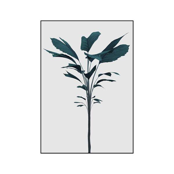 Turquoise render kép, Fekete 70x100 cm
