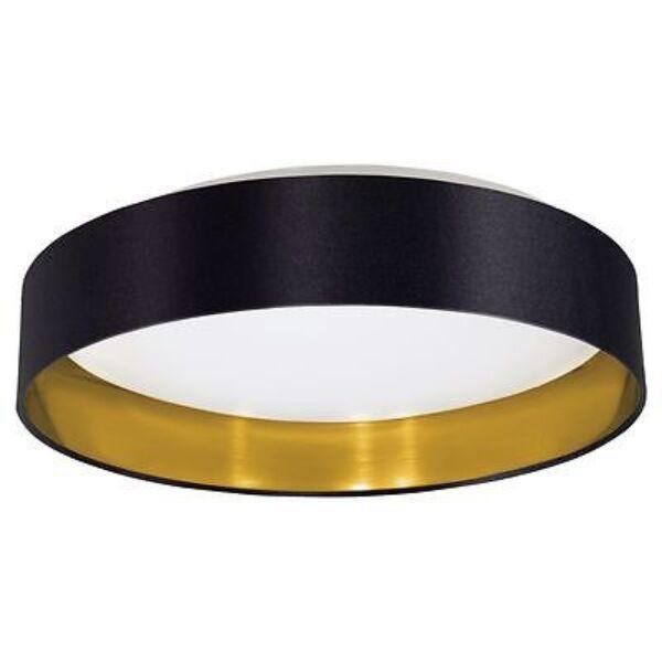 Maserlo mennyezeti lámpa, fekete/arany