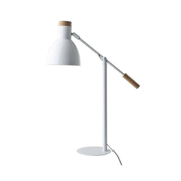 Read asztali lámpa, fehér fém