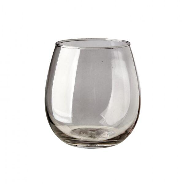 Skagway vizespohár, füst üveg