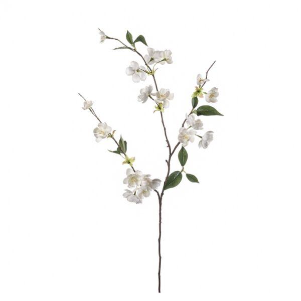 Művirág Virágzó őszibarack ág, krém