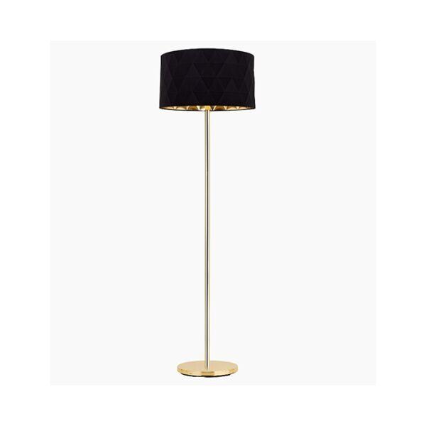 Dolorita állólámpa, fekete/arany