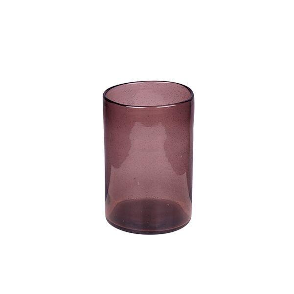 Spring váza/lámpás, lila üveg