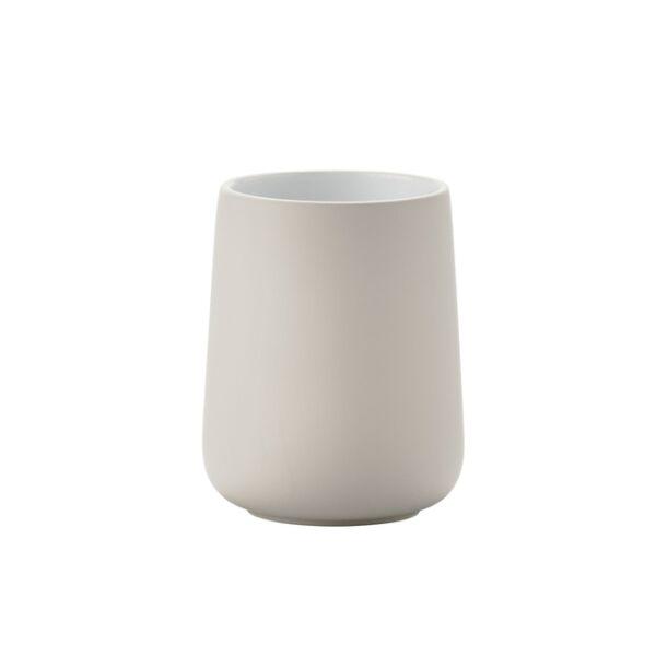 Nova fogmosópohár, krém porcelán