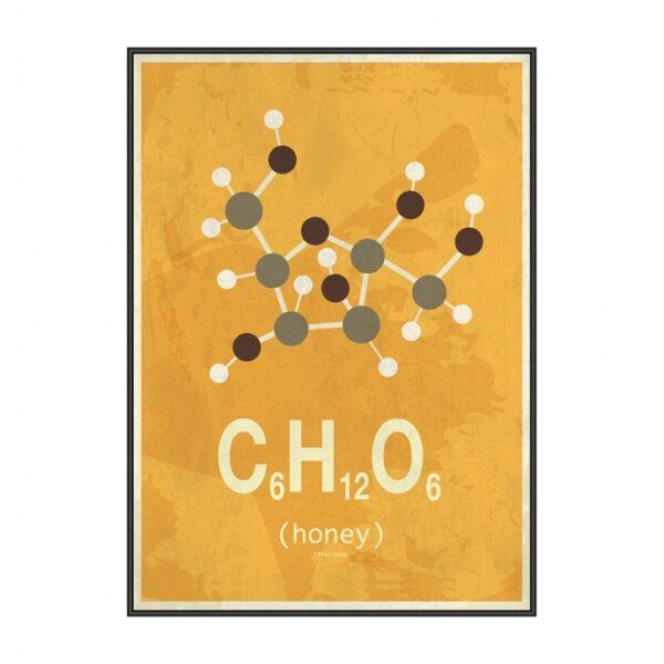 Molekula Méz kép, Fekete